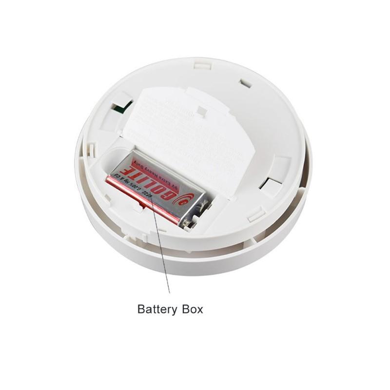 Detector De Humo Y Temperatura Inal 225 Mbrico Alarmas Para Casa