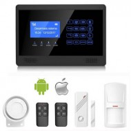 Kit Alarma M2BX, GSM/SMS/LCD, Sin Cuotas