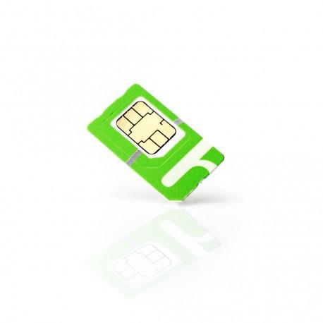 Tarjeta SIM prepago para Kits GSM