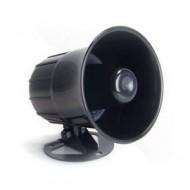Sirena bocina de alarma cableada para exterior/interior 12v