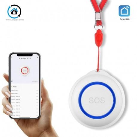 Botón SOS emergencia wifi