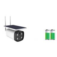 Cámara Solar Inalámbrica 4G Cámara ip Solar con batería para exterior con visión noturna, y detección de mvimiento