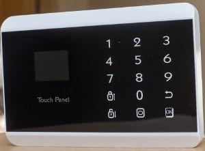Kit de alarma doble comunicación panel táctil