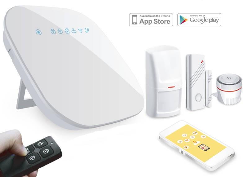 Kit Alarma WiFi + Linea Telefónica
