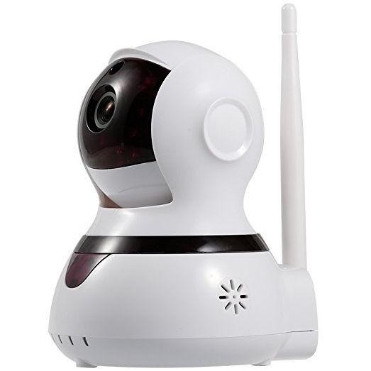 Cámara IP motorizada con función de alarma de seguridad