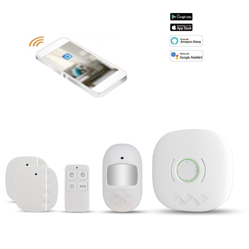 Kit Alarma WIFI inteligente