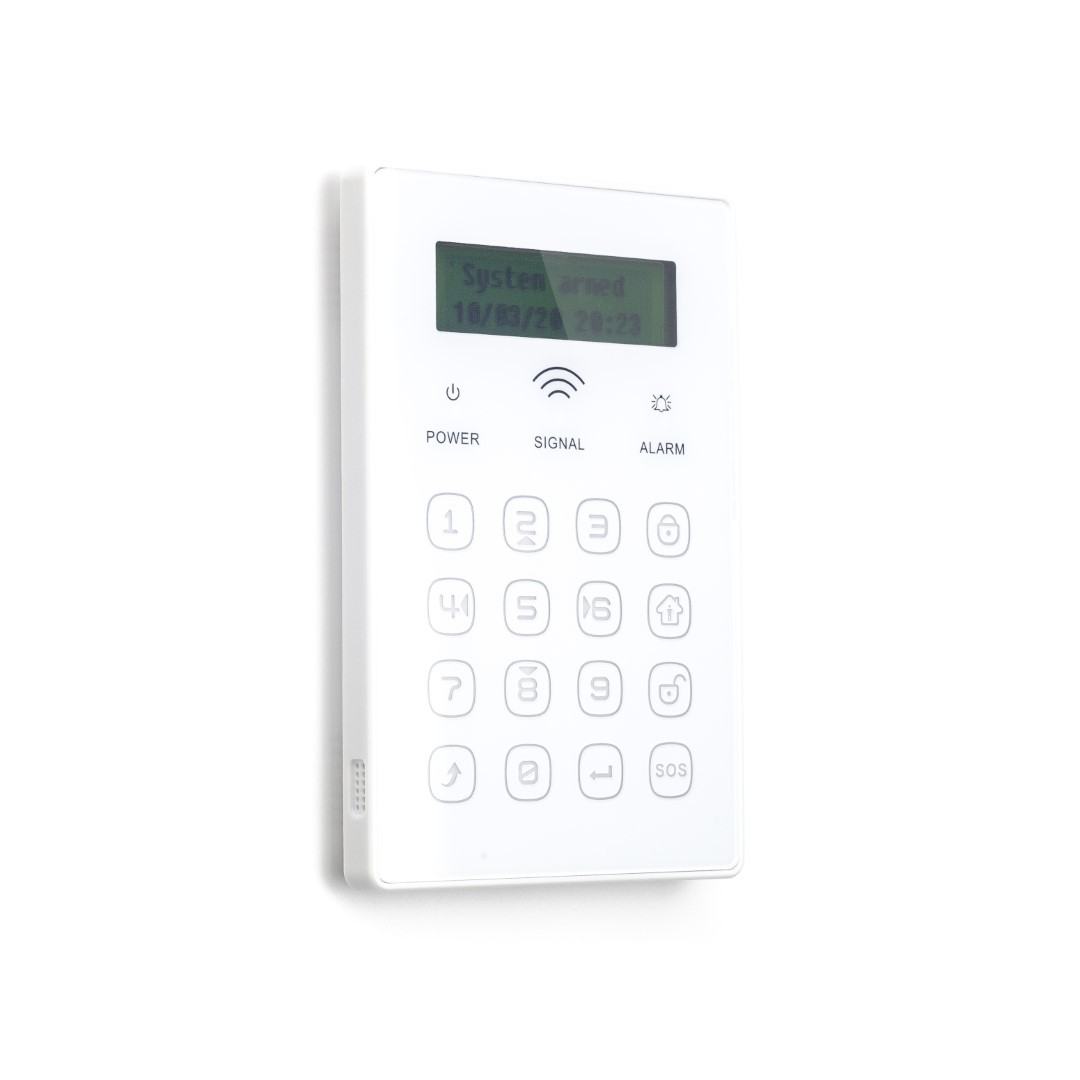 Teclado inalámbrico táctil Bidireccional con pantalla y RFID