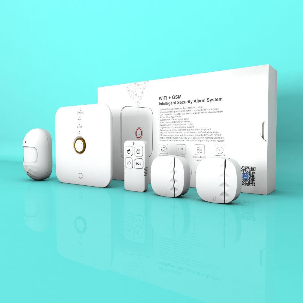 Kit Alarma WIFI+GSM inteligente