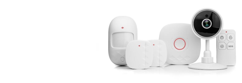 Alarma wifi para casa + camara IP, Kit de Alarma Autoinstalable